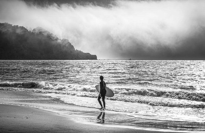 Golden Gate Surfer van Joris Pannemans - Loris Photography