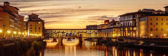 Florence - Ponte Vecchio  van Teun Ruijters