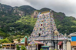 Hindutempel in Victoria auf den Seychellen