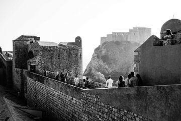 Dubrovnik - Kasteelmuren von Maurice Weststrate