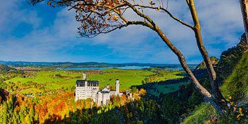 Schloss Neuschwanstein von Walter G. Allgöwer