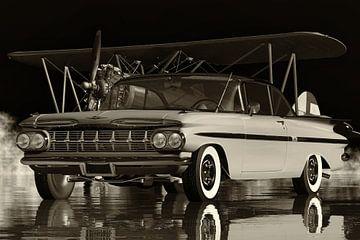 Chevrolet Impala de gezinsauto uit de jaren vijftig van Jan Keteleer