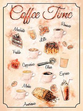 Koffie van Printed Artings