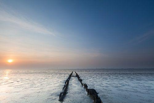 Sunset at Punt van Reide