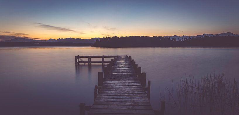 Lake Mahinapua van Studio W&W