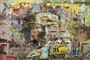 Straßenwandmalerei von Rudy & Gisela Schlechter