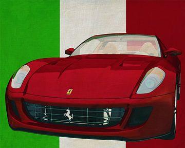 Ferrari 599 GTB Fiorano uit 2006 de sportwagen met Italiaanse roots