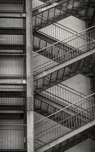 trappen fotoposter of  wanddecoratie van Edwin Hunter