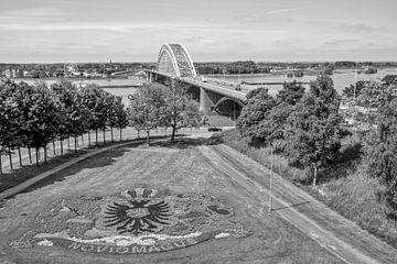 Waalbrücke, Nimwegen von Rene van de Esschert