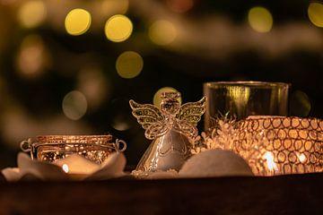 ange de Noël sur Tania Perneel