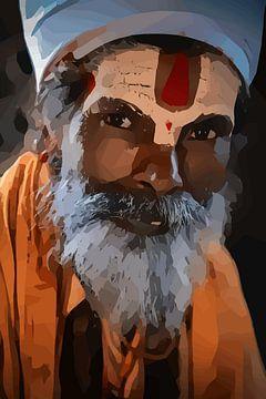 De mysterieuze heilige mannen van Nepal, Kathmandu van The Art Kroep