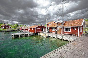 Sweden Island Stora grindo van Marc Hollenberg