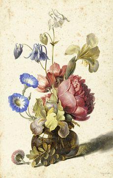 Blumen in der Flasche, Dirck de Bray von