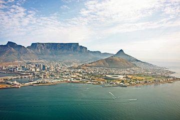 Cape Town aerial view van Meleah Fotografie