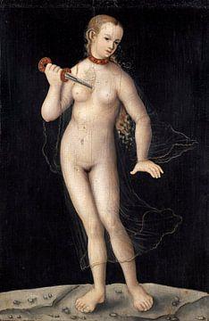 Lucas Cranach.Lucretia