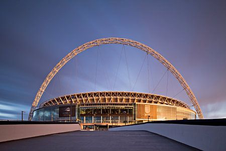 Wembley Voetbal Stadion. Londen