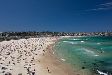 Bustling Bondi Beach-Sydney von Tessa Louwerens