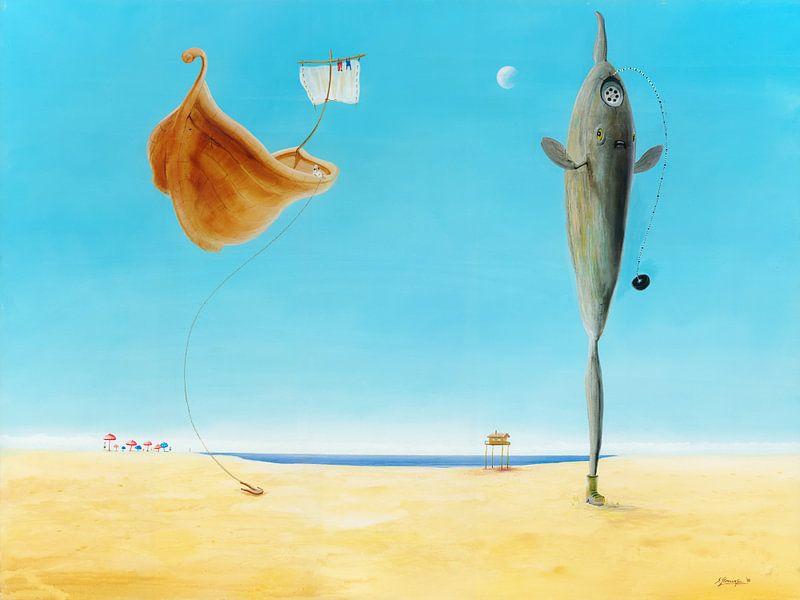 Mondfisch van Silvian Sternhagel