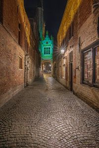 Heerlijk straatje in Brugge von