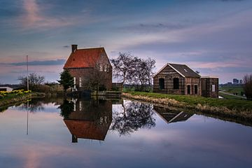 Gemaal de Volharding, Stompwijk von Carla Matthee