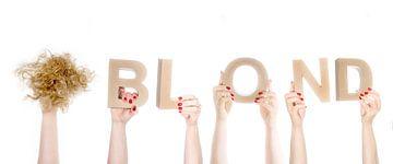 Blond, woord in handen van Peter Hermus