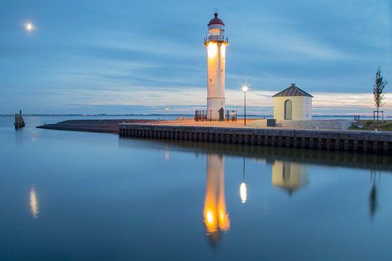 Le phare de la ville fortifiée de Hellevoetsluis