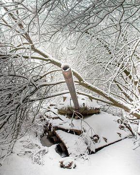 Panzer im Schnee #1 von Olivier Photography