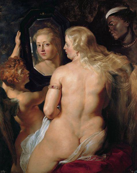 Peter Paul Rubens . Venus voor de spiegel, 1612