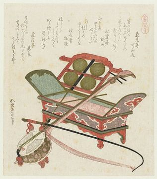 Pferdeschwanzhaar, Katsushika Hokusai, 1822