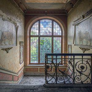 Verlaten kasteel van Frans Nijland