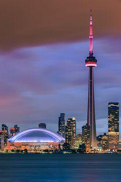Skyline von Toronto von Henk Meijer Photography