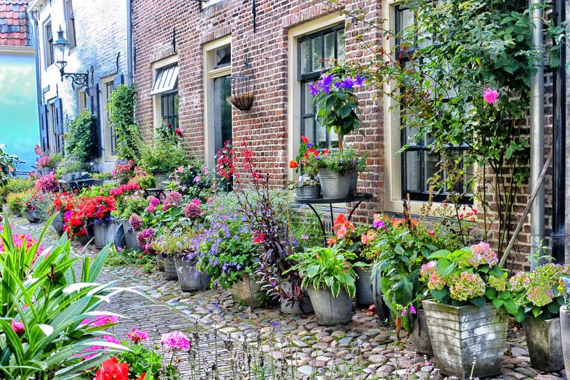 Bloemenstraatje Elburg I van Jessica Berendsen