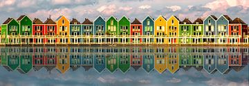 Kleurrijke huizen van Sabine Wagner