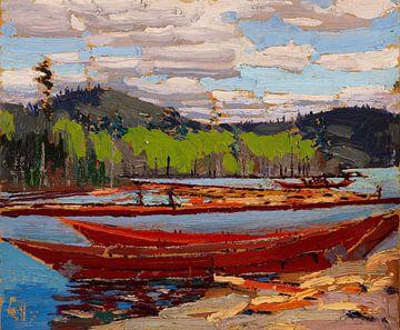 Tom Thomson~Bateaux.