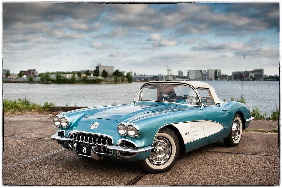 '59 Chevy Corvette (met sierrand)