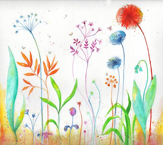 Magical flowers van keanne van de Kreeke