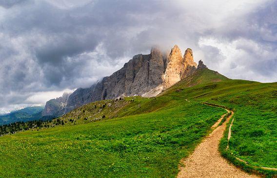 Follow the light - Torri del Sella - Dolomieten - Italië