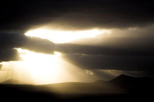 Zonsondergang Lanzarote van