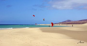 Kitesurfing von Iwona Sdunek alias ANOWI