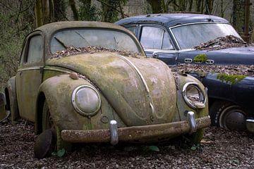 Verlaten Volkswagen Kever van Tim Vlielander