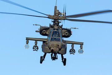AH-64 Apache des Forces aériennes royales néerlandaises sur Dirk Jan de Ridder