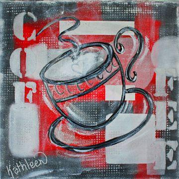 Morgenkaffee von Kathleen Artist Fine Art
