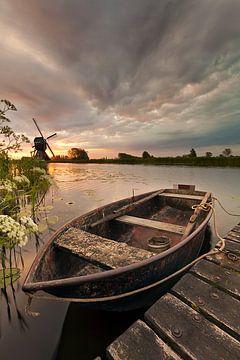 Het oude bootje van Halma Fotografie