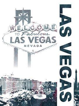 Las Vegas von Printed Artings