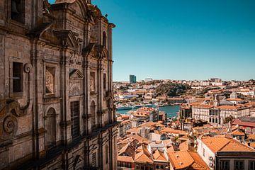 Stadtbild von Porto von Daan Duvillier