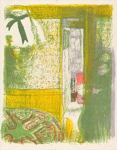 Interieur met hangende lamp, Edouard Vuillard