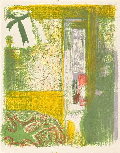 Mit Innen Hängelampe, Edouard Vuillard