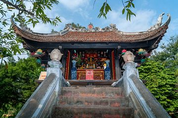 Hanoi: Eenzuilige Pagode van Maarten Verhees