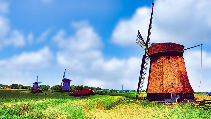 Molengang De Schermer von Digital Art Nederland