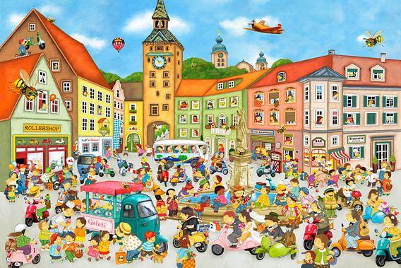 Sommer in der Stadt van Marion Krätschmer